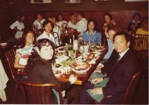 Truong Family Dinner circa 1982